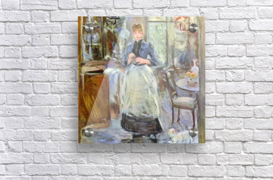 The Dining Room by Morisot  Acrylic Print