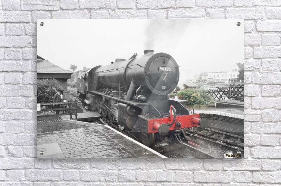 Old engine  Acrylic Print