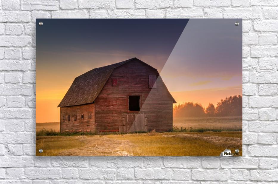 Rickety Barn  Acrylic Print