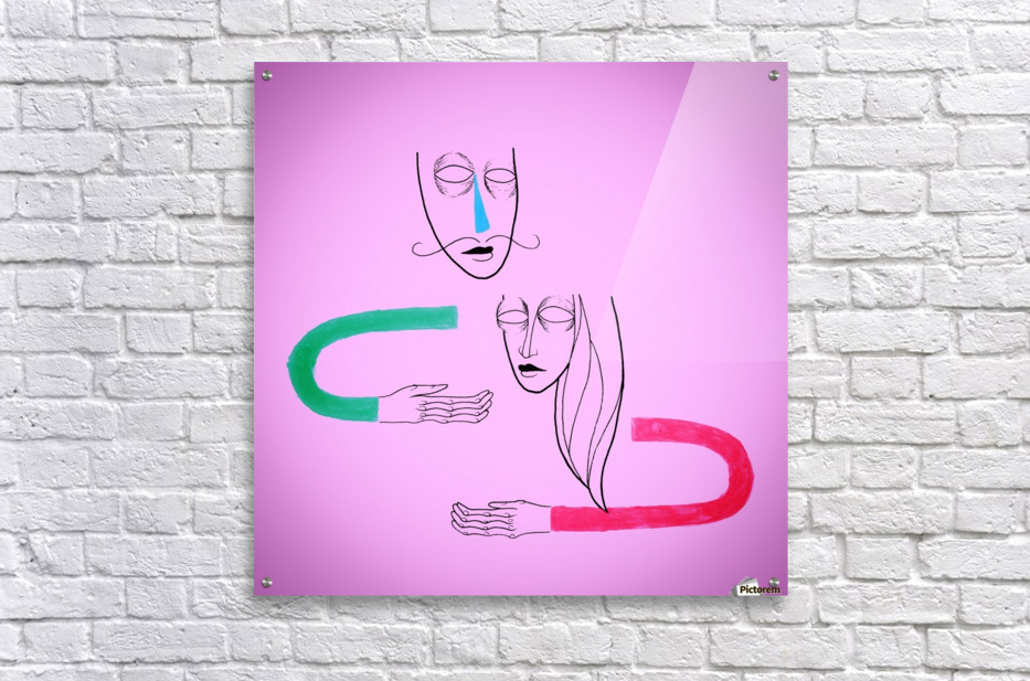 Connection  Acrylic Print