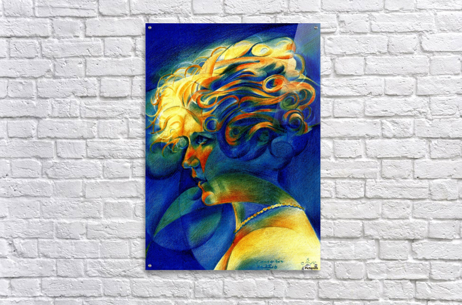 Sans titre - 25-10-16  Acrylic Print