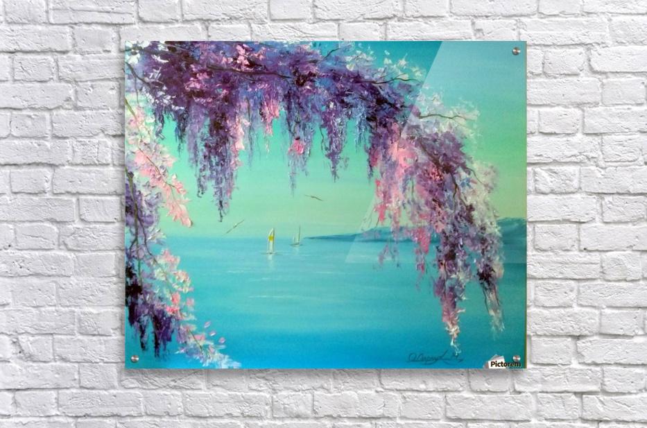 Глициния у моря  Acrylic Print