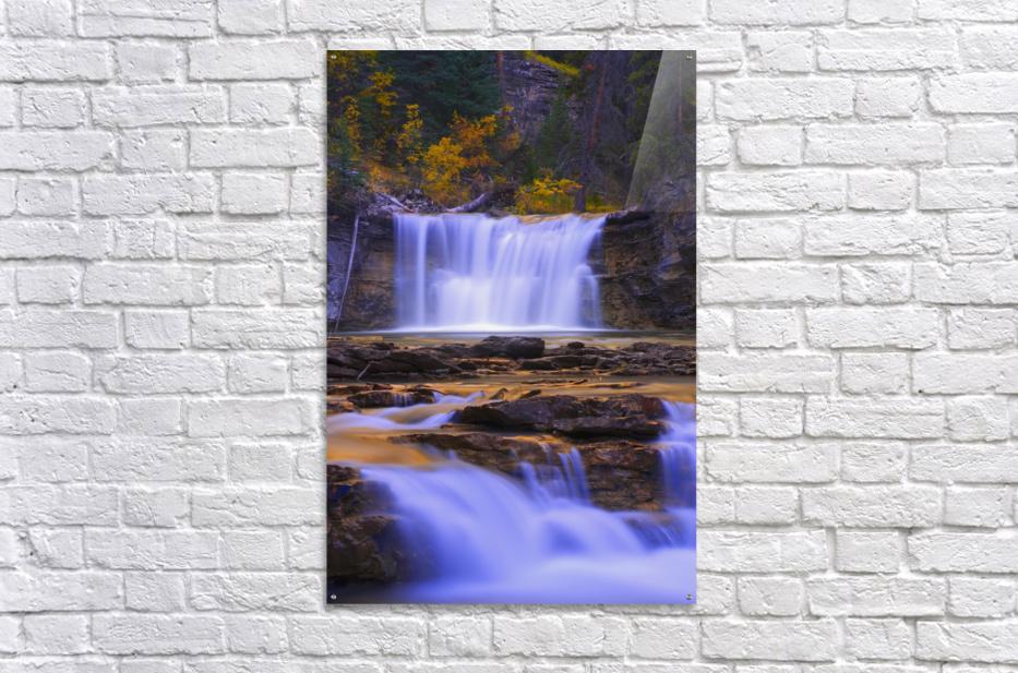 Johnston Canyon In Banff National Park, Alberta, Canada  Acrylic Print