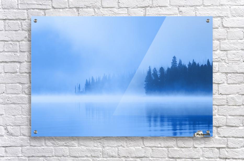Foggy Lake  Acrylic Print