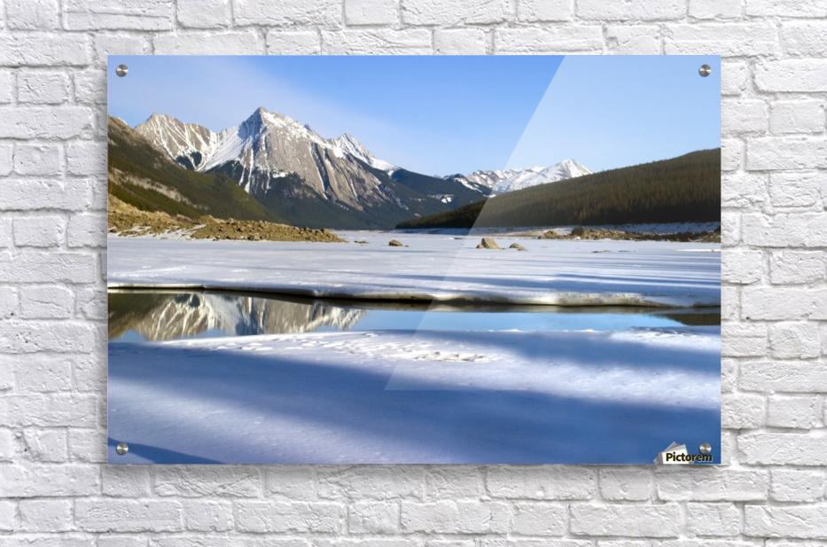 Medicine Lake, Jasper National Park, Alberta, Canada  Acrylic Print