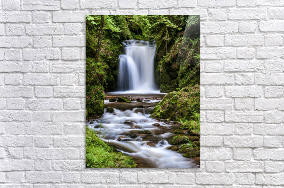 Watefall in the Black Forest in Germany  Acrylic Print
