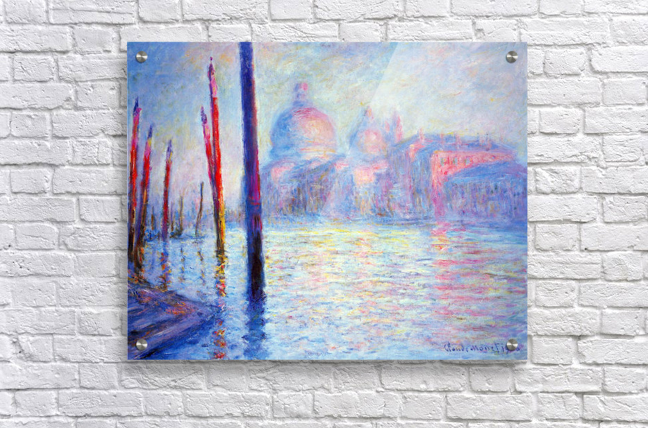 Canal Grand by Monet  Acrylic Print
