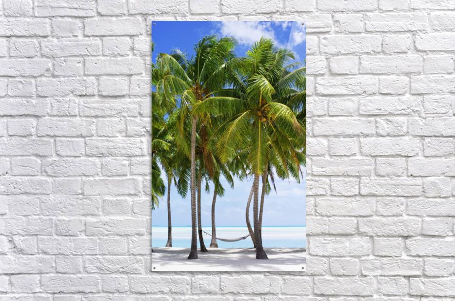 Aitutaki Lagoon Resort, Aitutaki, Cook Islands  Acrylic Print