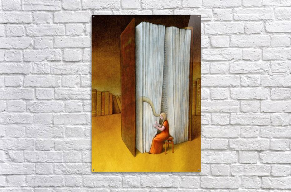 harp  Acrylic Print