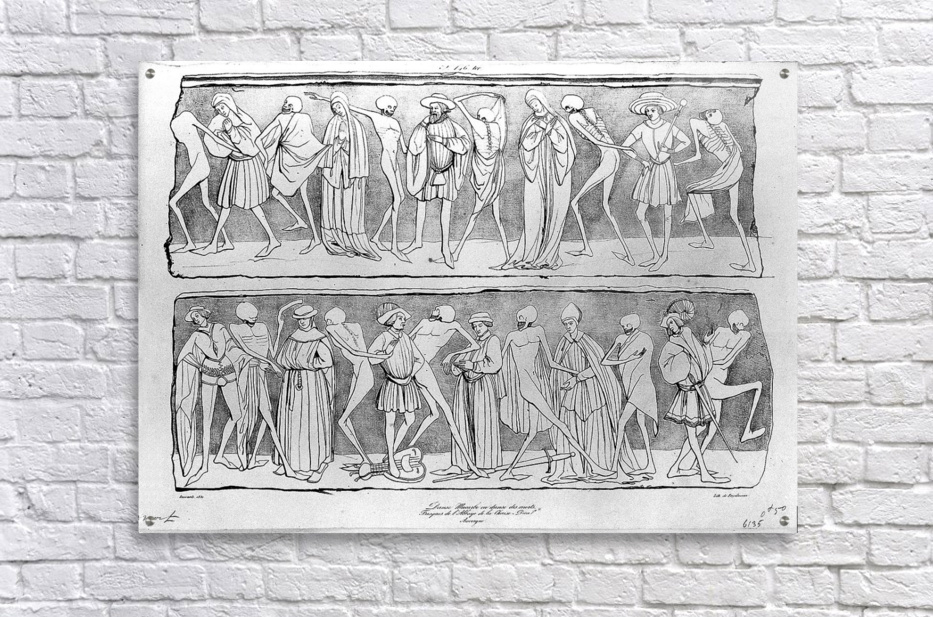 Dance of death  Acrylic Print