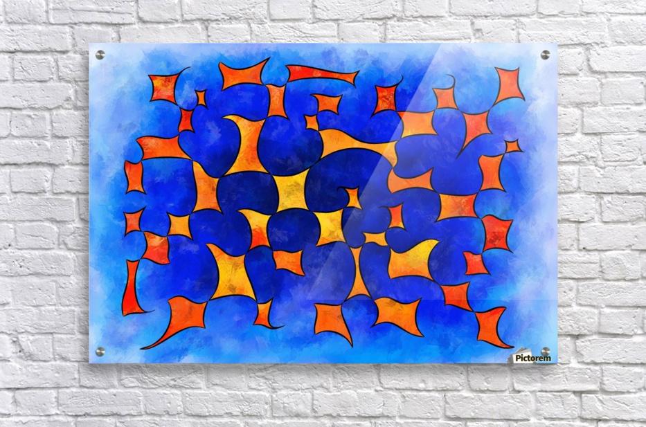 Blesmios V1- melting cubes  Acrylic Print