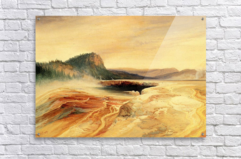 Giant Blue Spring, Yellowstone  Acrylic Print