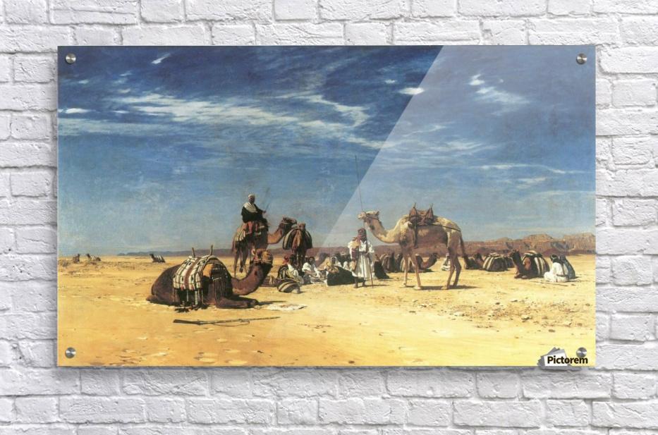 Rast in der Araba  Acrylic Print