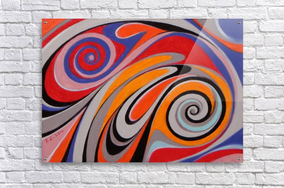 ink drop  Acrylic Print