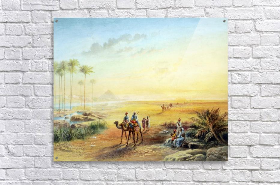 An Oasis at Giza  Acrylic Print