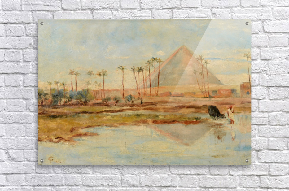 View of a pyramid  Acrylic Print