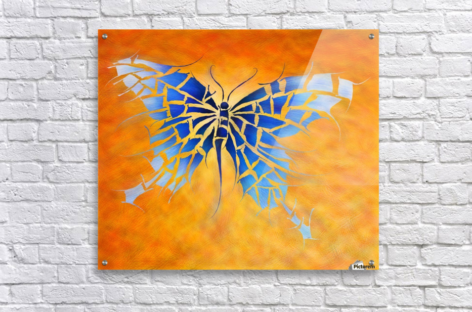 Tropenillo V1 - the blue butterfly  Acrylic Print