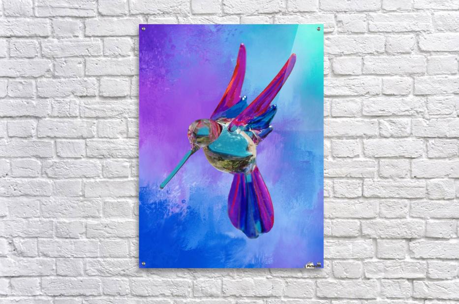 Glass Bird Abstract   Acrylic Print