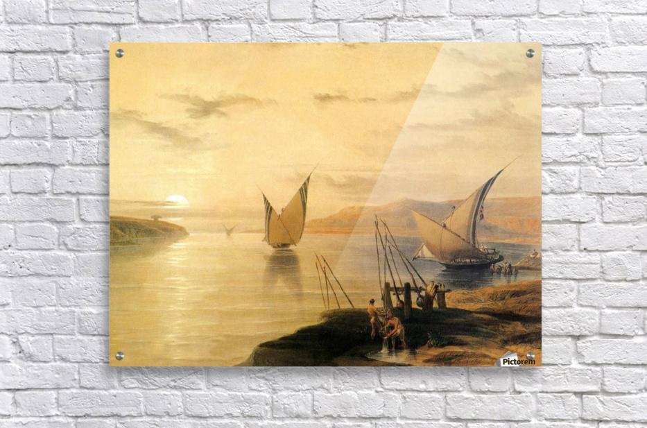 Gebel El Silsilis 1838  Acrylic Print