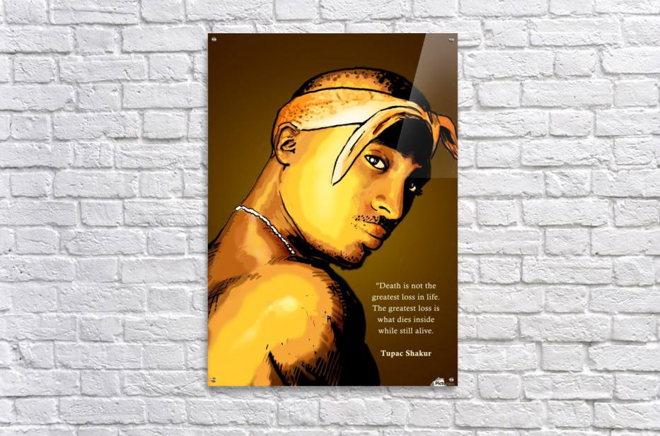 Tupac  Acrylic Print