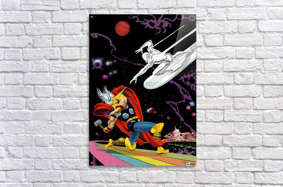 Marvel: Thor vs The Silver Surfer  Acrylic Print