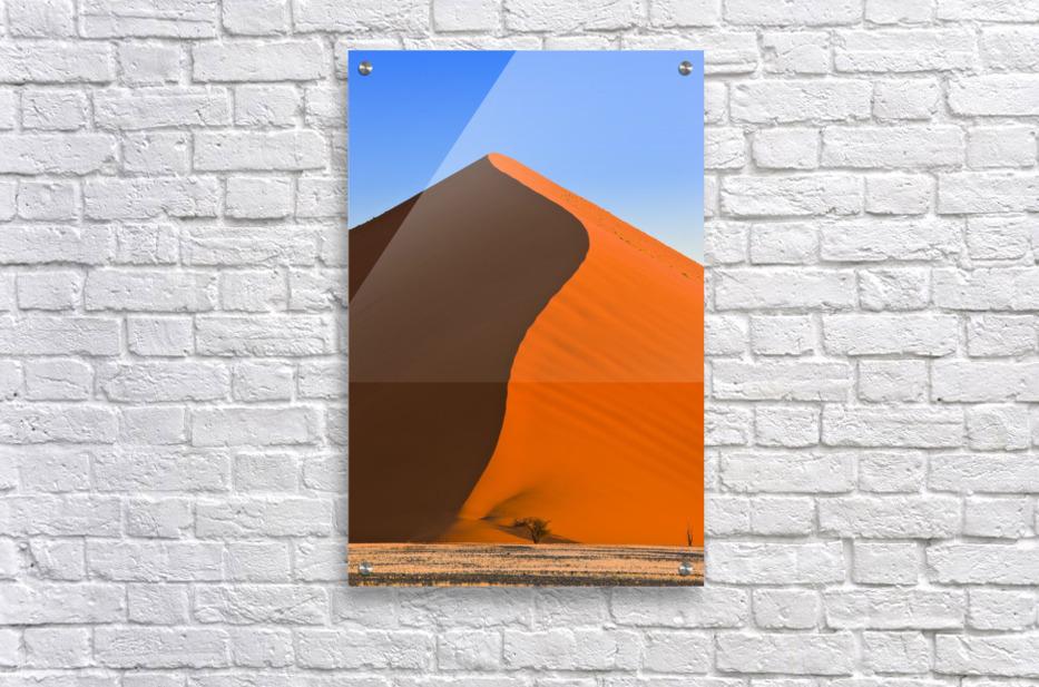 Sand Dune, Sossusvlei, Namib Desert, Namibia, Africa  Impression acrylique