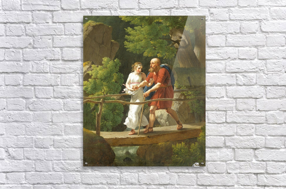 Oedipus and Antigone  Acrylic Print