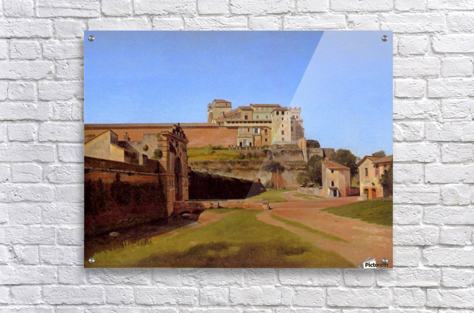 Rome, Porta Angelica and part of the Vatican, 1813  Acrylic Print