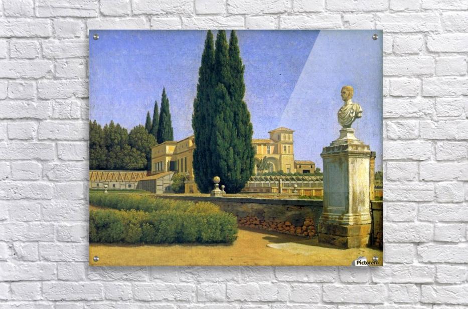 In the Gardens of the Villa Albani  Acrylic Print
