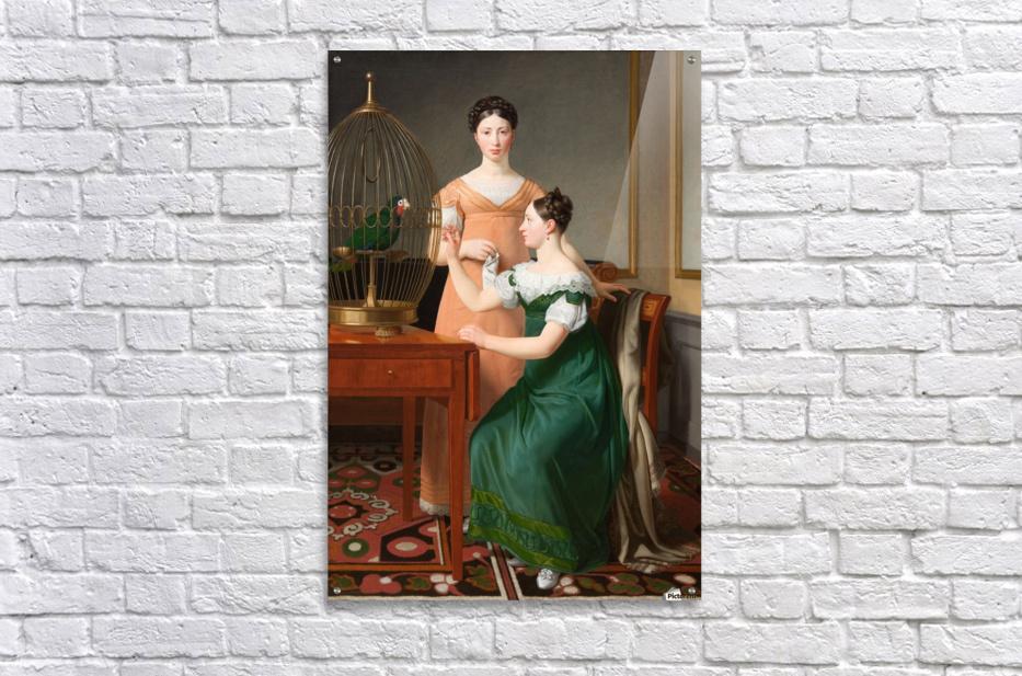 Bella and Hanna Nathanson  Acrylic Print
