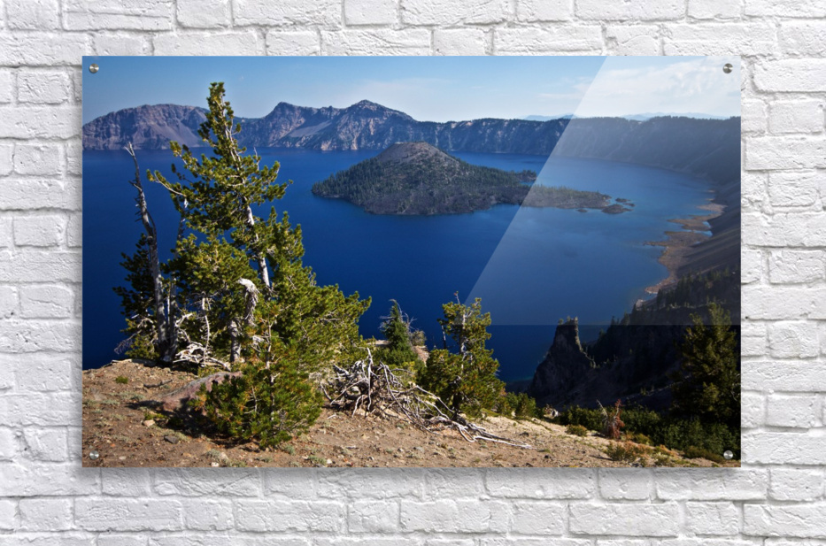 Crater Lake Scenic Aug, 2015  Acrylic Print