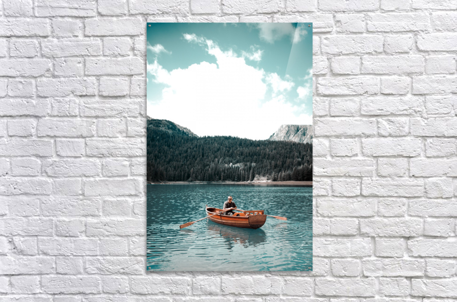 Lonely hour   Acrylic Print