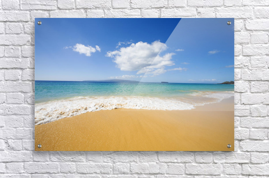 USA, Hawaii Islands, Maui, Big Beach; Makena  Acrylic Print