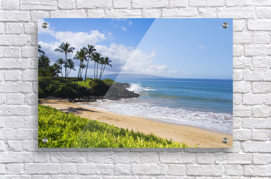 Hawaii, Maui, Wailea, Beautiful Ulua Beach.  Acrylic Print