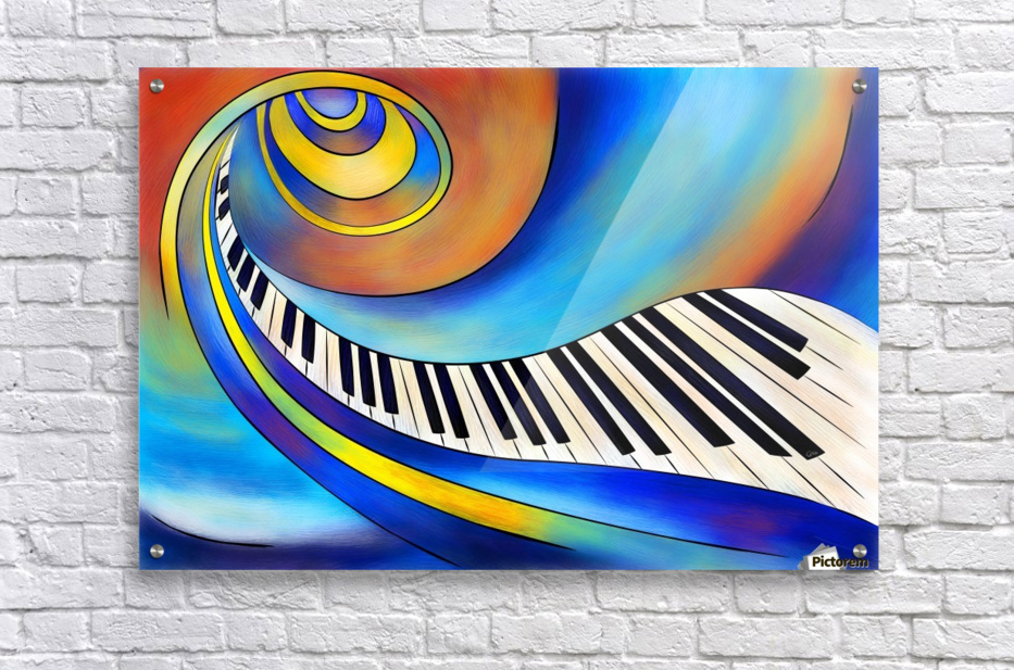 Redemessia - spiral piano  Acrylic Print