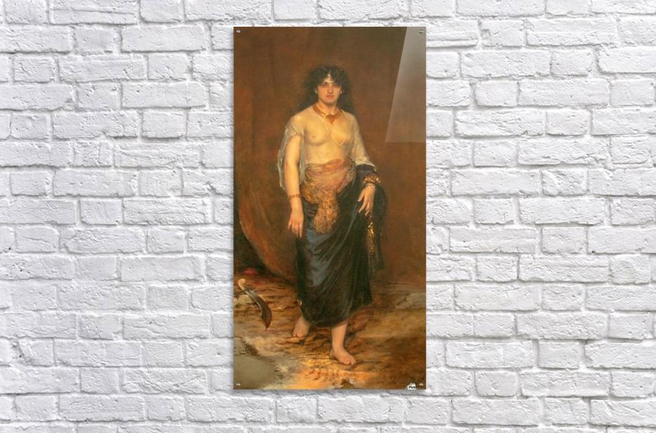 Judith  Impression acrylique