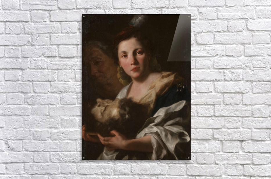Judith with the head of Holofernes  Impression acrylique