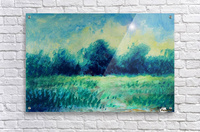 Landscape and Sun  Acrylic Print