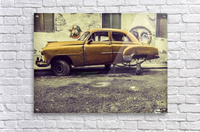 Old car cat  Acrylic Print
