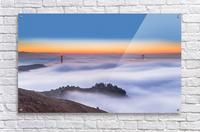 The Golden Gate Bridge in the Fog  Acrylic Print