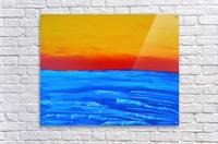 31 x2_31_031 yellow_sky R  Acrylic Print