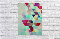 Cosmetic triangles IV  Acrylic Print