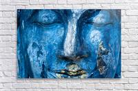 Buddha Face  Acrylic Print
