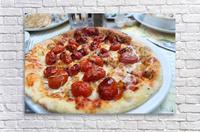 Pizza dans le Jardin de Nelson  Acrylic Print