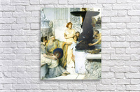 The Sculpture Gallery detail by Alma-Tadema  Acrylic Print
