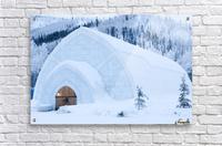 THE WINTER BARN  Acrylic Print