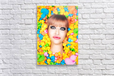 Duckfaceicon  Acrylic Print