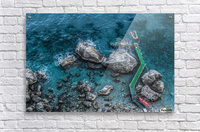 The Beach - Amalfi Coast - Italy  Acrylic Print