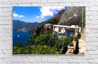 Amalfi Coast Landscape - Italy  Acrylic Print