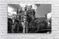 Cathedral   - Black and White image  Acrylic Print